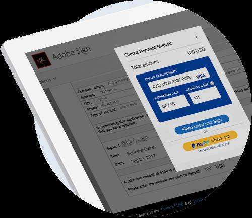 Dostęp do płatności w formularzach dla klientów